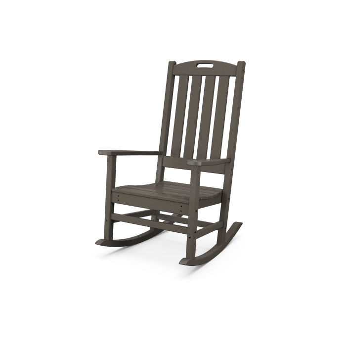 Nautical Porch Rocking Chair in Vintage Finish
