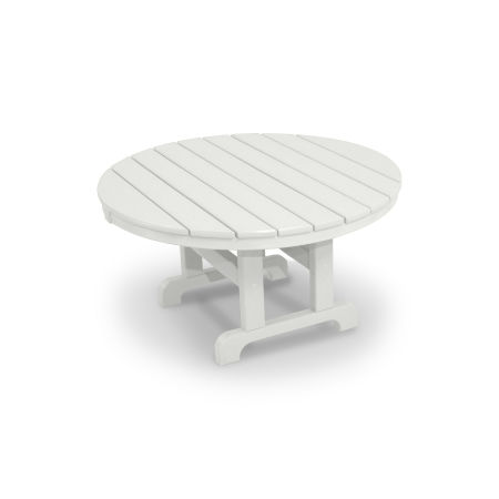 "Classics Round 36"" Conversation Table in White"