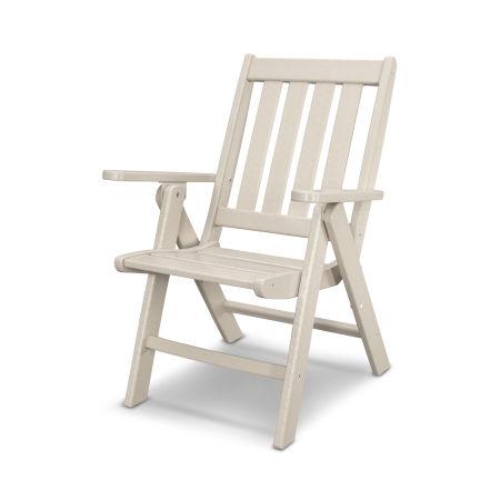 Vineyard Folding Dining Chair in Sand