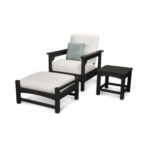 Club 3-Piece Deep Seating Set