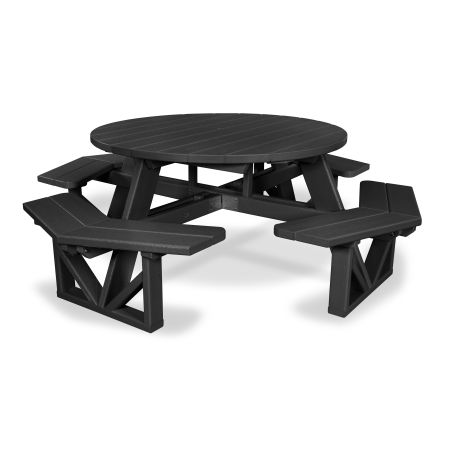 "Park 53"" Octagon Table in Black"