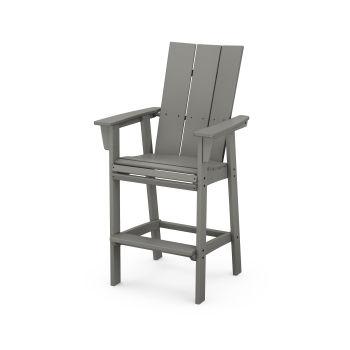 Modern Curveback Adirondack Bar Chair