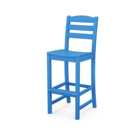 La Casa Café Bar Side Chair in Pacific Blue