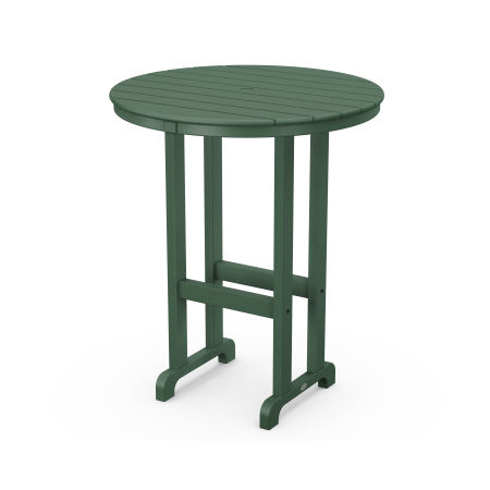"La Casa Café Round 36"" Bar Table in Green"