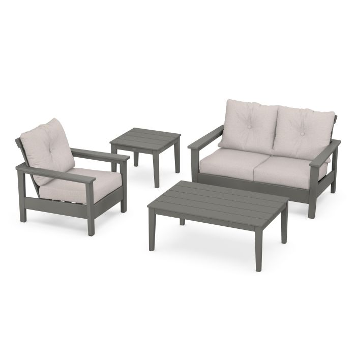 Prescott 4-Piece Deep Seating Set