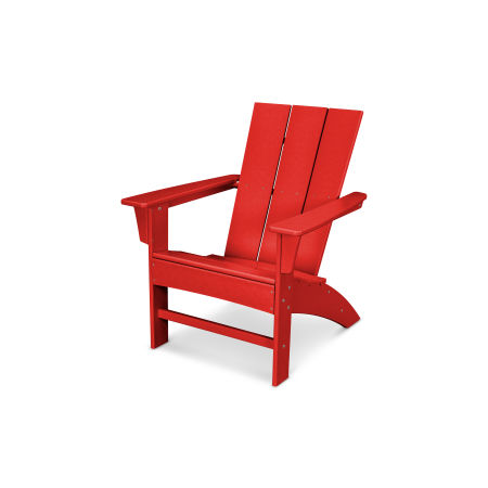 Prescott Adirondack in Sunset Red