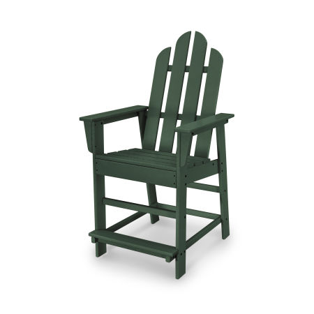 Long Island Counter Chair in Green