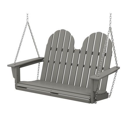 "Vineyard Adirondack 48"" Swing in Slate Grey"