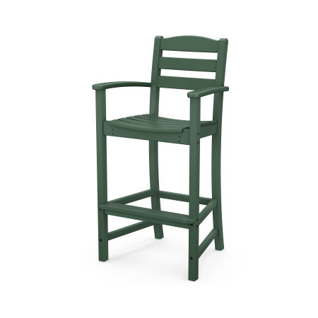 La Casa Café Bar Arm Chair in Green