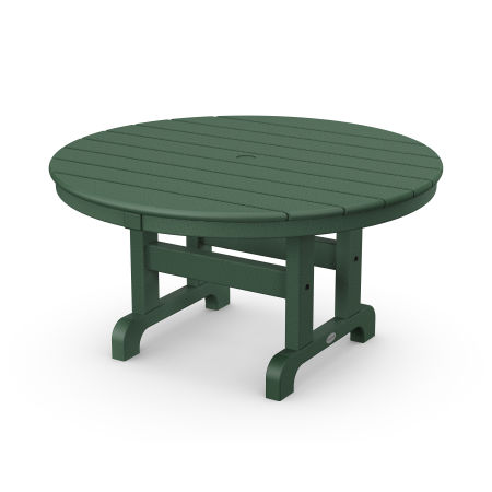"""Round 36"""" Conversation Table in Green"""