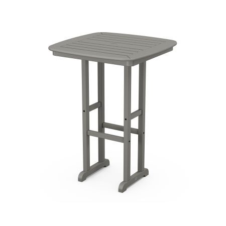 "Nautical 31"" Bar Table in Slate Grey"