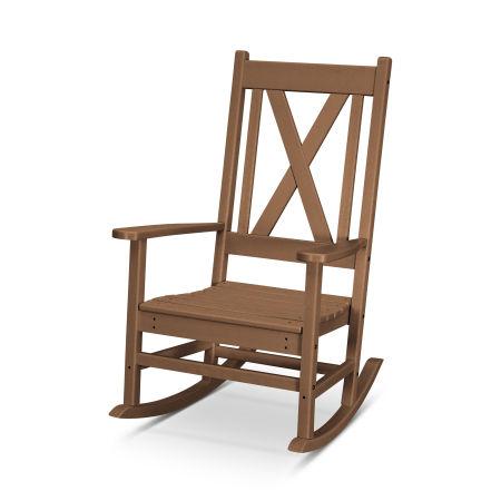 Braxton Porch Rocking Chair in Teak