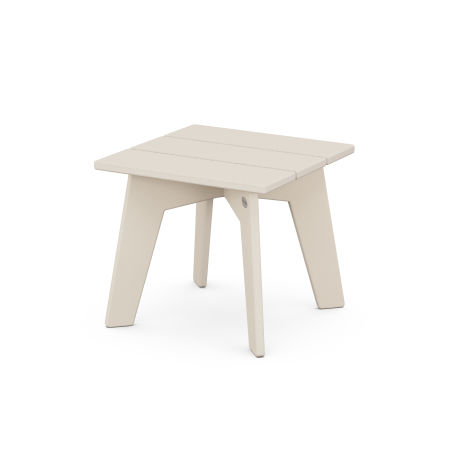 Riviera Modern Side Table in Sand