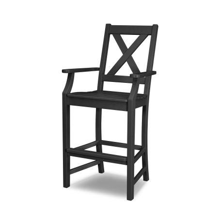 Braxton Bar Arm Chair in Black