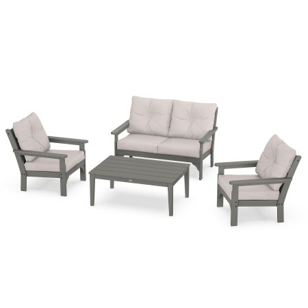 Vineyard 4-Piece Deep Seating Set