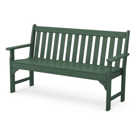 """Vineyard 60"""" Bench in Green"""