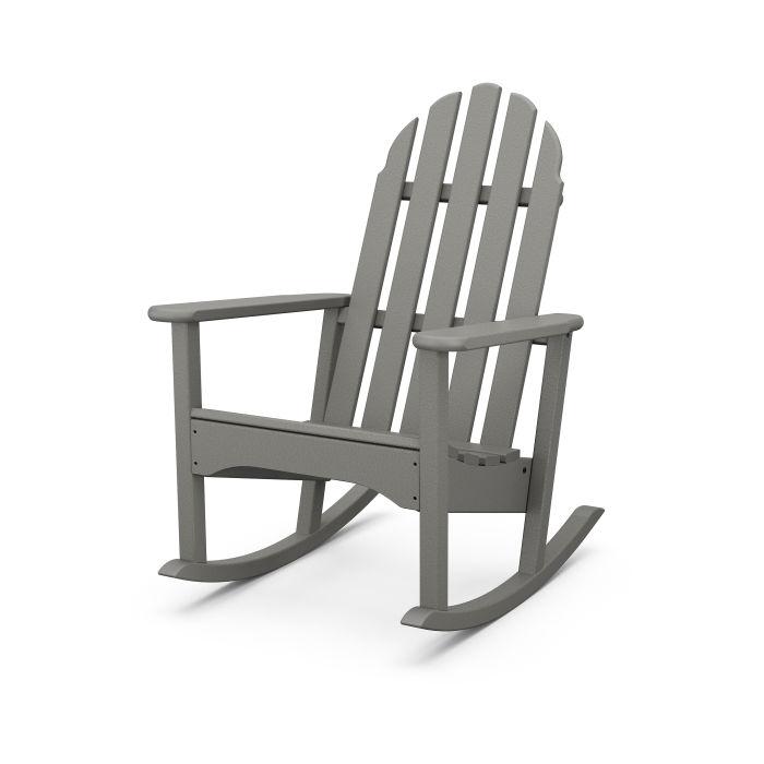 Classic Adirondack Rocking Chair