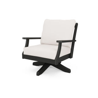 Braxton Deep Seating Swivel Chair