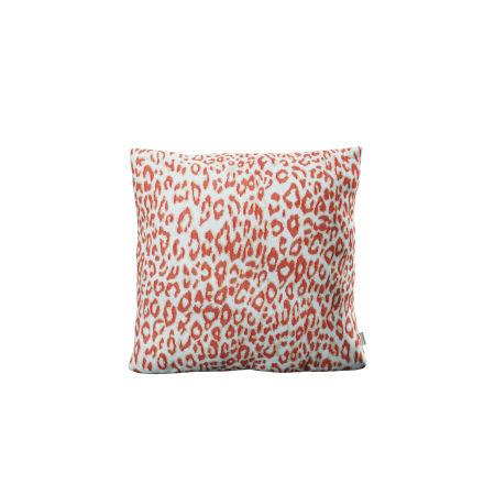 """18"""" Outdoor Throw Pillow in Safari Coral"""