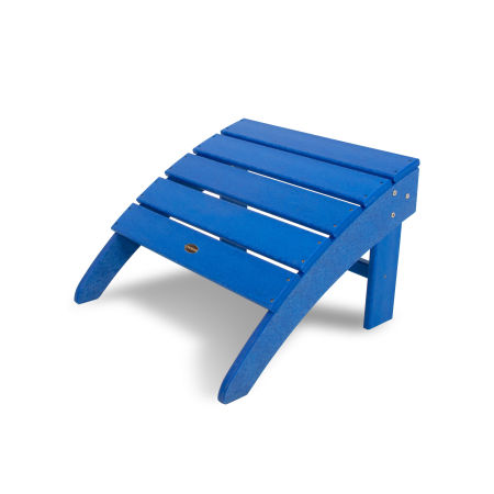 South Beach Adirondack Ottoman in Pacific Blue