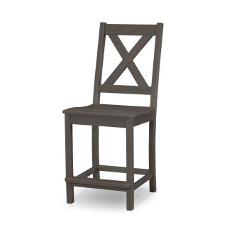 Braxton Counter Side Chair in Vintage Finish