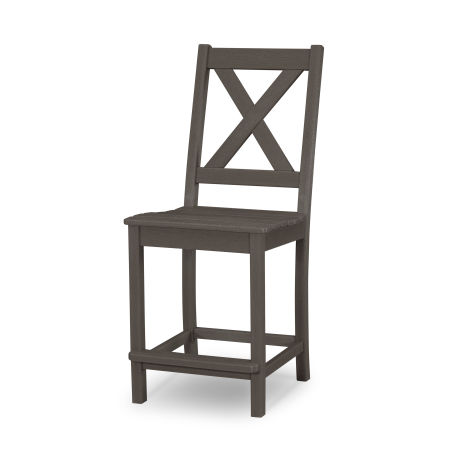 Braxton Counter Side Chair in Vintage Coffee