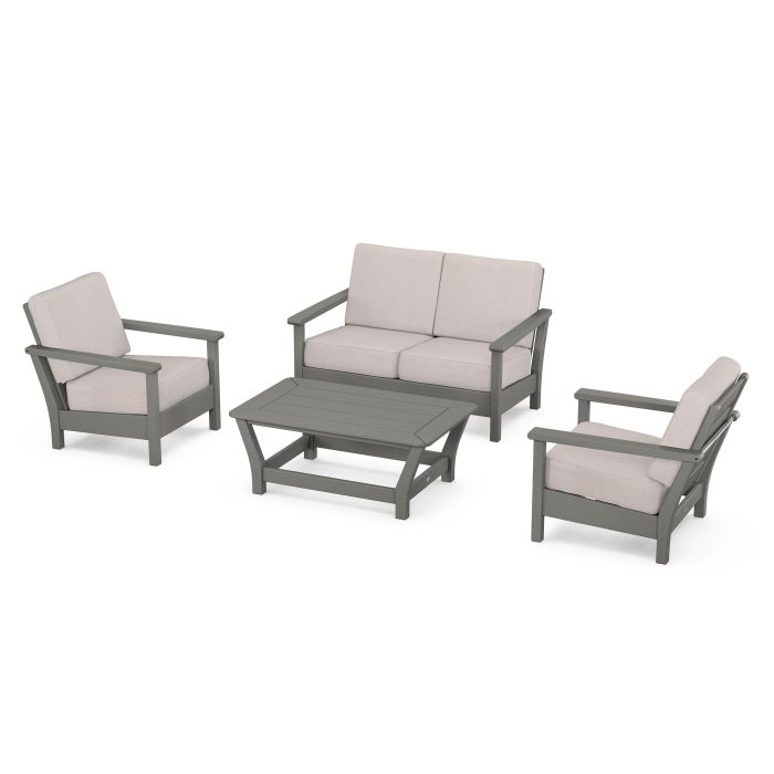 Harbour 4-Piece Deep Seating Set