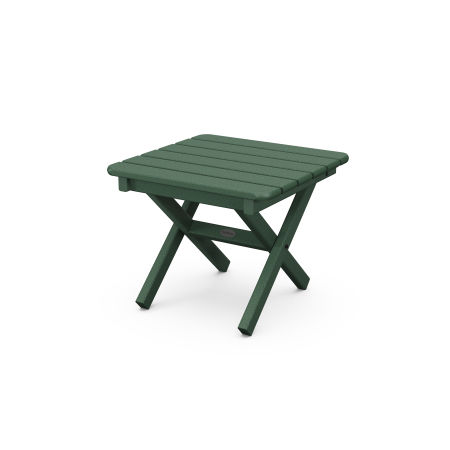 """18"""" Side Table in Green"""