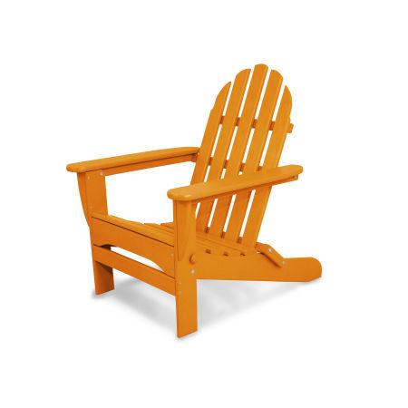 Classics Folding Adirondack in Tangerine