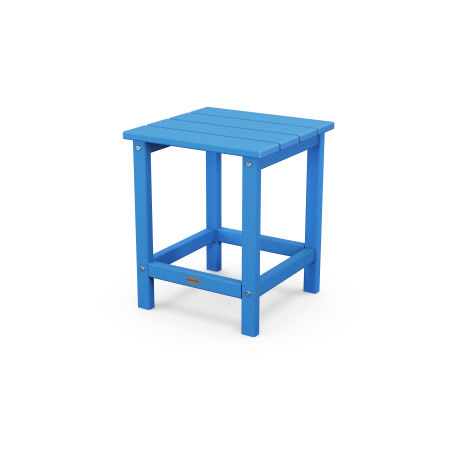 "Long Island 18"" Side Table in Pacific Blue"