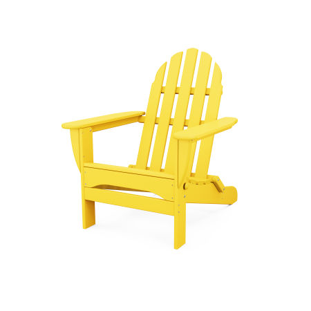 Classic Folding Adirondack in Lemon