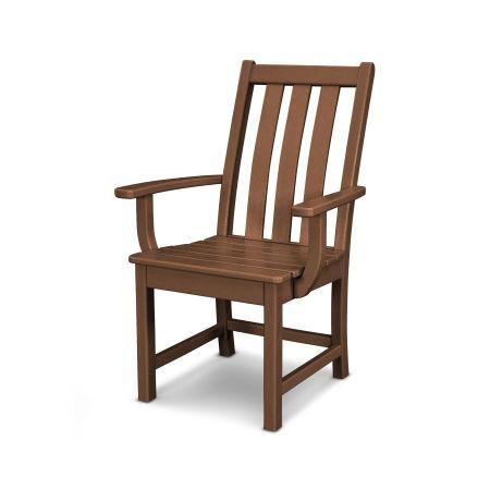 Vineyard Dining Arm Chair in Teak