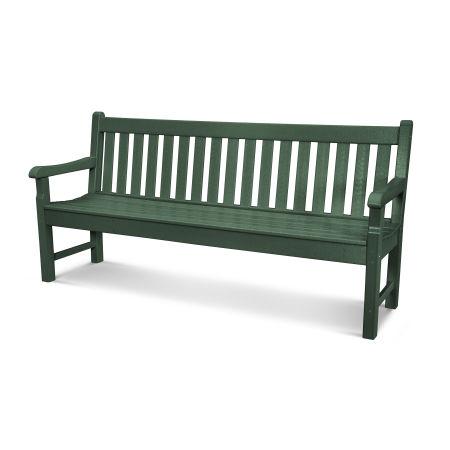 """Rockford 72"""" Bench in Green"""