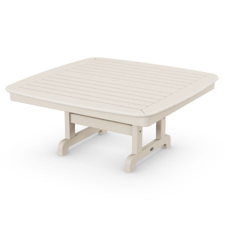 """Nautical 44"""" Conversation Table in Sand"""