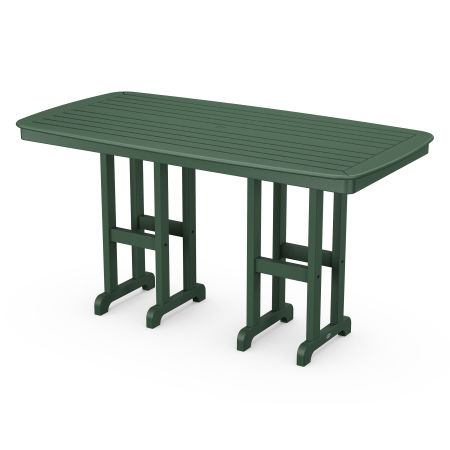 """Nautical 37"""" x 72"""" Counter Table in Green"""