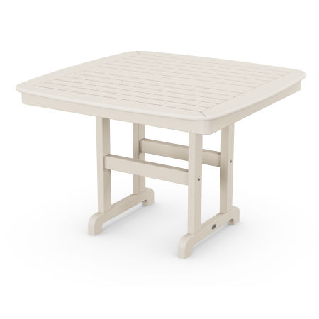 """Nautical 44"""" Dining Table in Sand"""