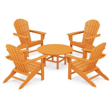 5-Piece Conversation Group in Tangerine