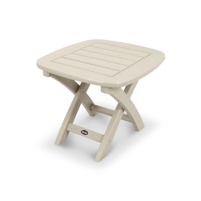 """Yacht Club 21"""" x 18"""" Side Table"""