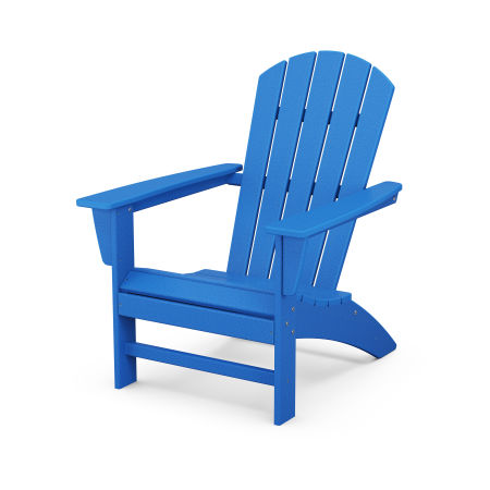 Nautical Adirondack Chair in Pacific Blue