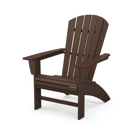 Nautical Curveback Adirondack Chair in Mahogany