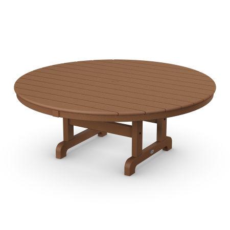 """Round 48"""" Conversation Table in Teak"""