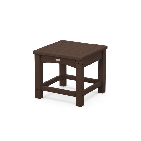 """Club 18"""" Side Table in Mahogany"""