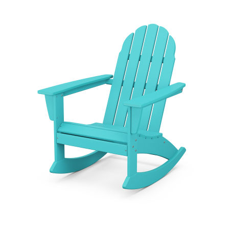 Vineyard Adirondack Rocking Chair in Aruba