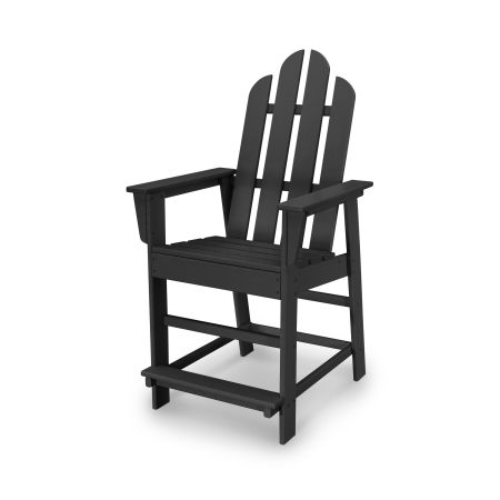 Long Island Counter Chair in Black