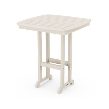 """Nautical 37"""" Bar Table in Sand"""