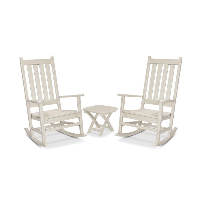 Cape Cod 3-Piece Porch Rocking Chair Set