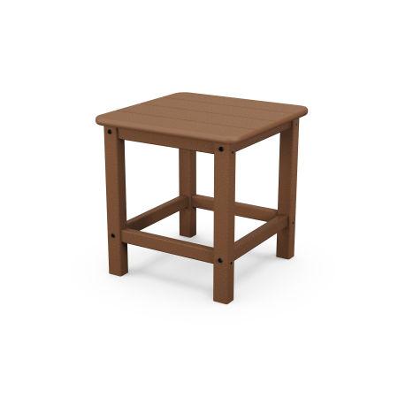 """Seashell 18"""" Side Table in Teak"""