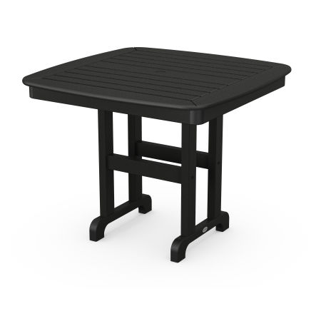 """Nautical 37"""" Dining Table in Black"""