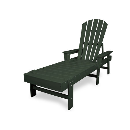 South Beach Chaise in Green