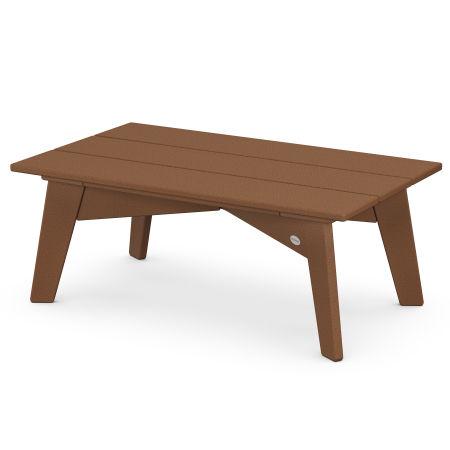 Riviera Modern Coffee Table in Teak